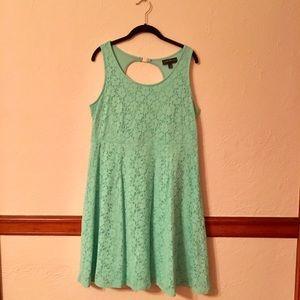 Mint Green Skater Dress - Lane Bryant